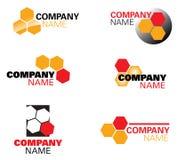 логос меда архитектора Стоковая Фотография RF