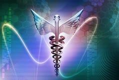 логос медицинский Стоковые Изображения