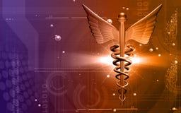 логос медицинский Стоковое Изображение