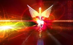 логос медицинский Стоковые Фото