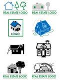Логос недвижимости Стоковые Фотографии RF