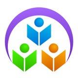 логос образования иллюстрация штока