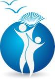 логос образования Стоковые Фотографии RF