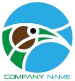 логос орла иллюстрация вектора