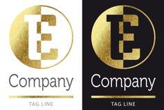 Логос письма e Стоковое фото RF