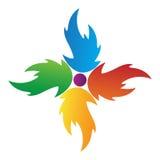 логос пламени бесплатная иллюстрация