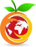 Логос плодоовощ Стоковое Фото