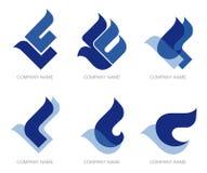 логос птицы Стоковое Изображение
