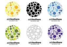 логос пузыря Стоковые Фотографии RF