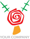 логос связи Стоковое Фото