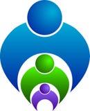 логос семьи Стоковые Изображения