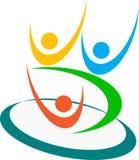 Логос семьи Стоковые Изображения RF