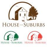 логос снабжения жилищем иллюстрация штока