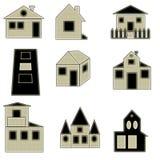 логос собрания домашний Стоковое фото RF