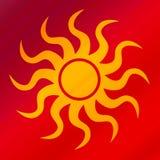 логос солнечный Стоковая Фотография