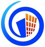 логос строителей Стоковое Изображение