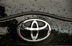 логос Тойота Стоковые Фотографии RF