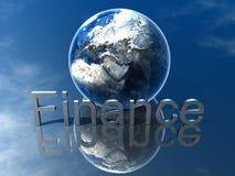 логос финансов Стоковое Изображение