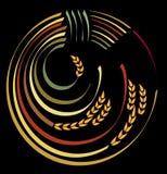логос хлебоуборки Стоковое фото RF