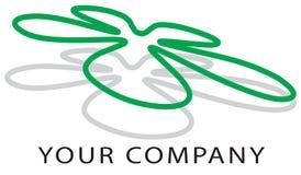 логос цветка Стоковые Изображения