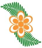 логос цветка Стоковое фото RF