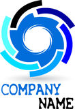 логос шестерни Стоковая Фотография