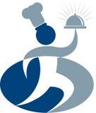 логос шеф-повара Стоковое фото RF