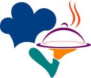 Логос шеф-повара Стоковое Изображение