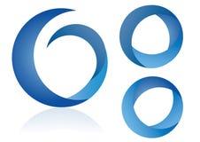 логос элементов иллюстрация вектора