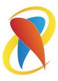 логос дантиста Стоковое Фото