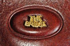 логос 2 мостов Стоковые Фотографии RF