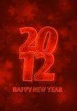 логос 2012 снежный Стоковые Изображения RF