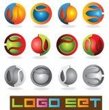логос 3D Стоковая Фотография RF