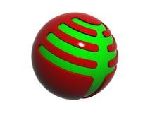 логос 3D Стоковые Изображения RF