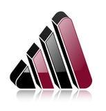 логос 3d Стоковые Фотографии RF