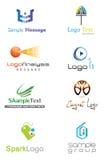 логос 3D Стоковая Фотография