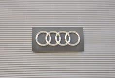 Логос Audi Стоковое Изображение