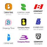 Логос b письма иллюстрация штока