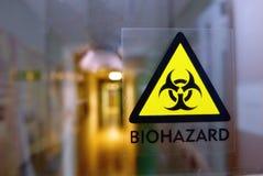 логос biohazard стоковые фото