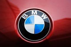 логос bmw стоковое изображение