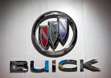 логос buick стоковое фото