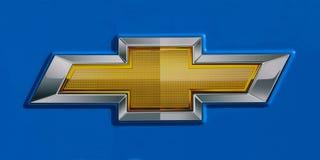 логос chevrolet Стоковое фото RF