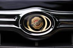 логос chrysler стоковое фото rf
