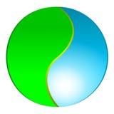 логос eco иллюстрация вектора