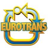 логос eurotrans Стоковые Фото