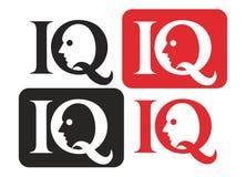 логос iq Стоковые Фотографии RF