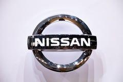 логос nissan Стоковое Изображение
