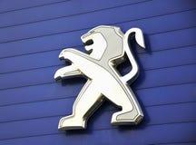 Логос PEUGEOT стоковые изображения