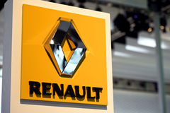 логос renault Стоковое Изображение
