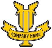 логос t письма компании Стоковые Фото